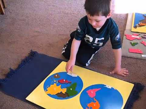 Middleburg Montessori School: Puzzle Map