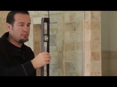 How to Install Frameless Shower Doors from Denver Colorado
