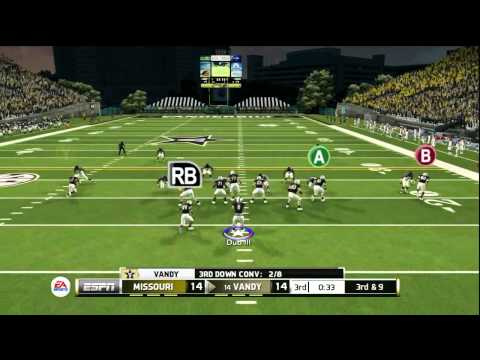 NCAA Football 2014: Mizzou Heads Down Vandy Way!