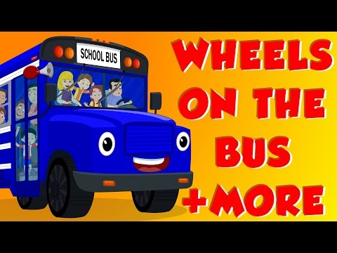 Wheels On The Bus | Finger Family | Old Mac Donald | Plus More video