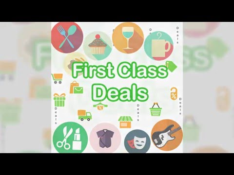 Save At Restaurants, Health & Beauty, Shopping & More With First Class Deals App
