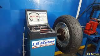 LR Motos - Balanceamento da Roda Traseira da Suzuki Boulevard 1500 Preta - 2510