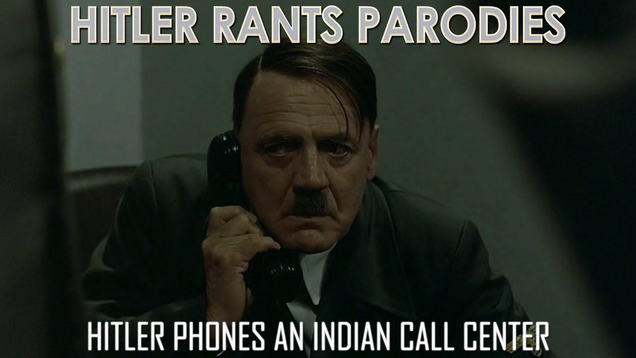 Hitler phones an Indian call center