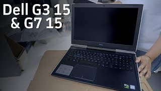 Unboxing Dell's new budget gaming laptops: G3 15 & G7 15