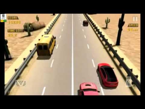 Играем в Traffic Racer на андроид