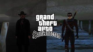 GTA Sanandreas   Mr. Trenchcoat Vs Kenshi
