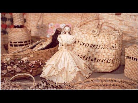 Curso Artesanato em Palha de Milho - Bolsas, Caixas, Baús, Cestos, Bonecos e Outros - Caixa Pequena