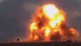 RAW: Moment of reported ISIS suicide blast in Libya