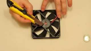 Reparar Ventilador de Ordenador (120x120) Eliminando sus Ruidos