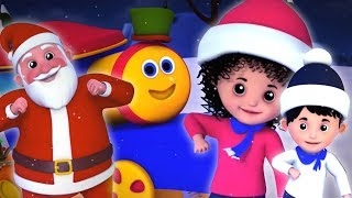 bob o trem   sinos de jingle   canção para crianças   Bob Train Jingle Bells   Christmas Song