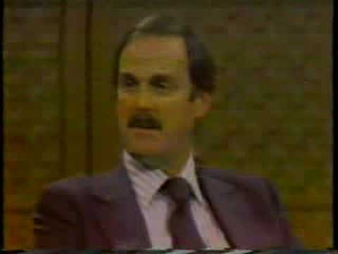 John Cleese on the Dick Cavett Show, 1979, part 4 of 6