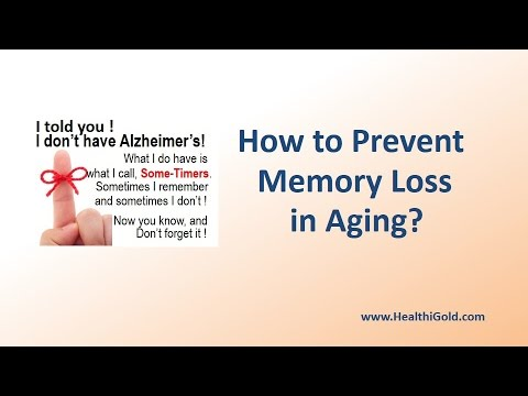 How to Prevent Memory Loss in Aging? | Does Improve Memory Supplements help?