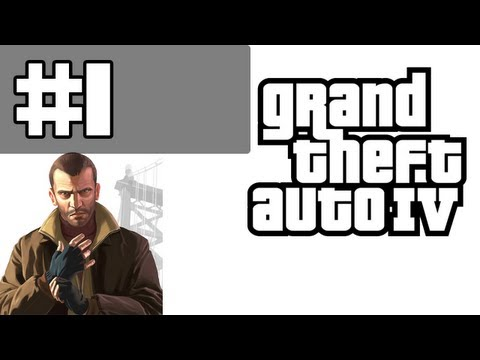 Grand Theft Auto 4 Walkthrough / Gameplay with Commentary Part 1 - The Cousins B