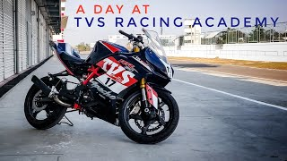 How to get into track racing in India? |TVS RACING ACADEMY |