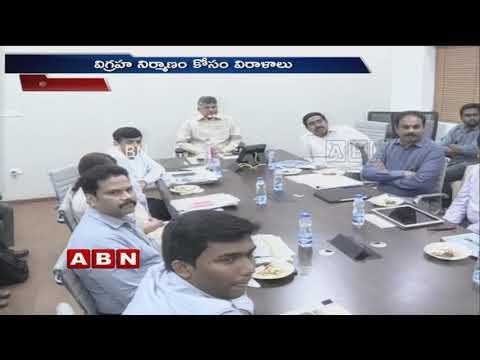 NTR memorial statue to be installed in Amaravati | ABN Telugu