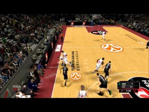 NBA 2K15 - DERBY DI EUROLEGA: EA7 MILANO VS MONTEPASCHI SIENA