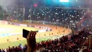 PERSIB BIRUKAN JAKARTA Juara Piala Presiden Full Ceremony GBK Biru