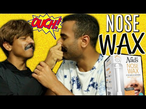 HOW TO WAX YOUR NOSE HAIRS AT HOME! Blair Thompson