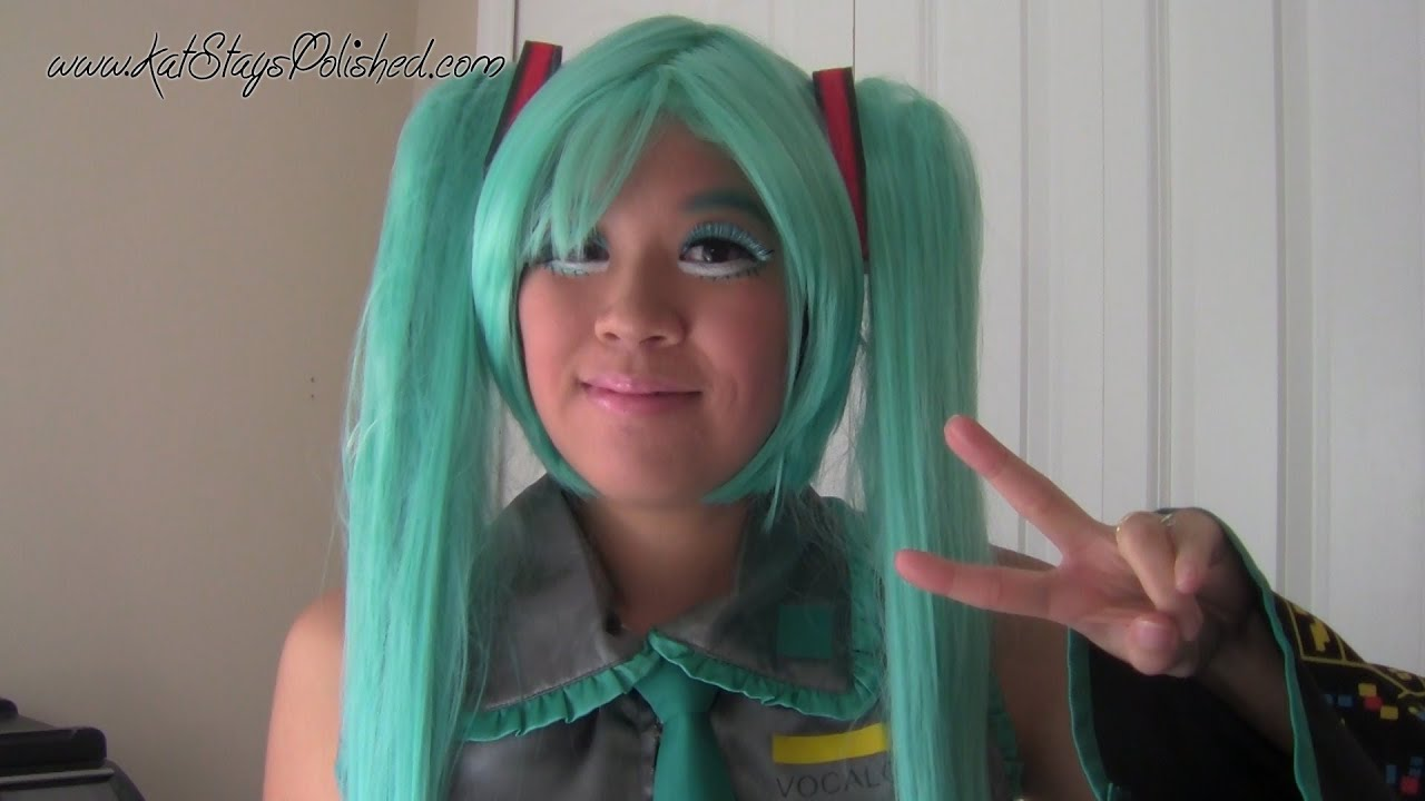 hatsune miku tutorial inspired by michelle phan youtube