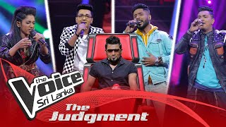 The Judgment | Team Kasun  Day 01 | The Knockouts | The Voice Sri Lanka