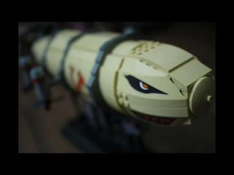 Kazi : Red Alert 3 Kirov Airship Build (Lego compatible)