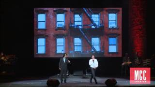 """Lin-Manuel Miranda and Raul Esparza sing  """"A Boy Like That"""" from West Side Story"""