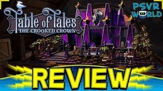 Table of Tales: The Crooked Crown PSVR Review