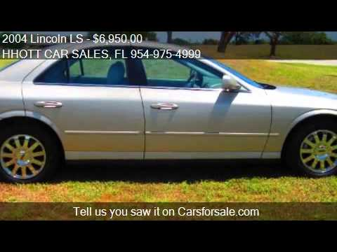 2004 Lincoln LS for sale in Deerfield Beach, FL 33073 at the