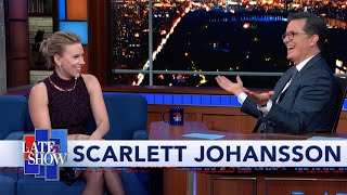 Scarlett Johansson And Stephen Exchange Holiday Cooking Tips