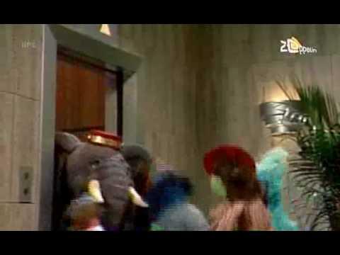 Sesamstraat - De iets te ver doorgeschoten liftolifant