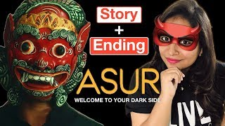 Asur Web Series Full Story & Ending Explained | Deeksha Sharma