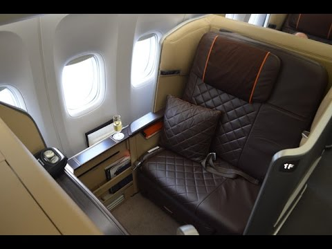 Singapore Airlines 'New' First Class B777-300ER : Singapore to Hong Kong SQ2