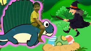 Phiêu lưu vào thế giới khủng long tập 2 bò sát lưỡng nha hoạt hình Kênh trẻ em - video cho bé yêu