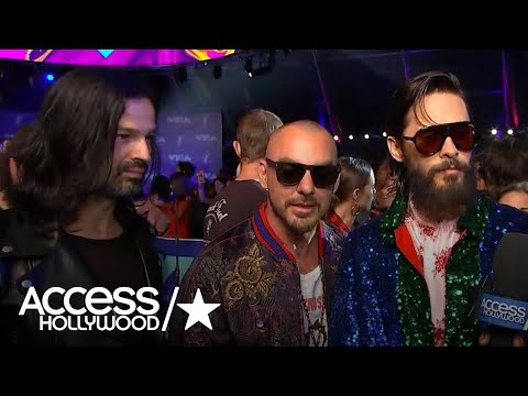 2017 MTV VMAS: Jared Leto Dishes On 30 Seconds To Mars' New Single