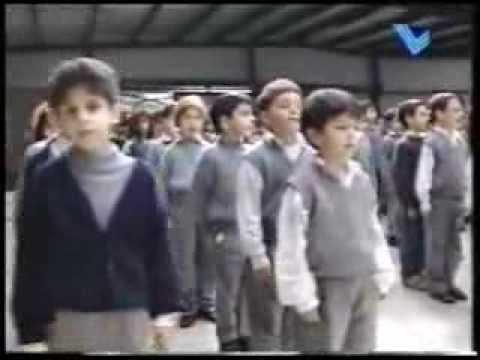 Saint Joseph School-Independence Day 1997-TL Sammy Clark teaching The Lebanese Anthem