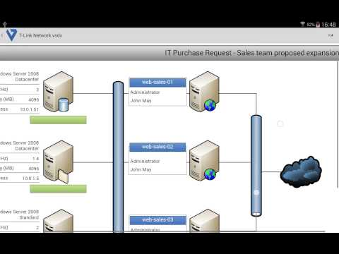 VSD Viewer for Visio Drawings Business app for Android Preview 1