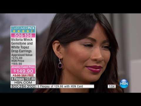 HSN | Victoria Wieck Gemstone Jewelry 01.09.2017 - 03 PM