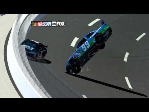 2009 Carl Edwards Crash Reenactment