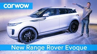 All-new Range Rover Evoque SUV 2019 revealed - and I've driven it 'off-road'!
