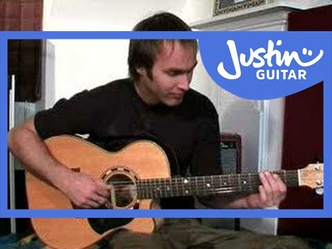 Acoustic Solo Blues Guitar disc 1 DVD DEMO (Guitar Lesson PR-004) How to play