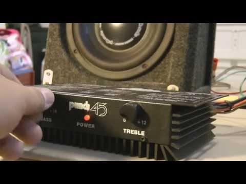 Old School Vintage Rockford Fosgate Punch 45 vs. Polk db8 8