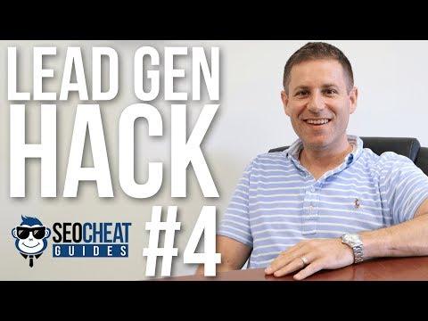 Lead Gen Hack #4
