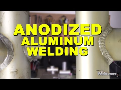 How to Bump Weld Anodized Aluminum for Marine Applications   TIG Time