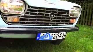 Franzosen Tour im  Peugeot 204   Bj  1971