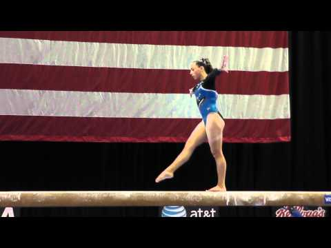 Amelia Hundley - Beam - 2012 Visa Championships - Jr Women - Day 1