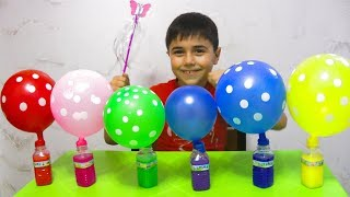 Guka Pretend Play 💫Magic Stick🌟 and Learn Balloons Colors