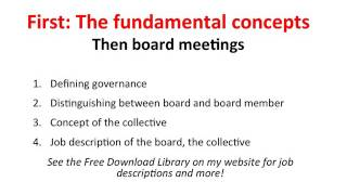 Ensuring Effective Nonprofit Board Meetings