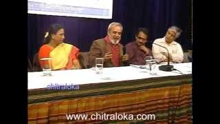 Chitraloka Seminar - UR Anantha Murthy On Cinema