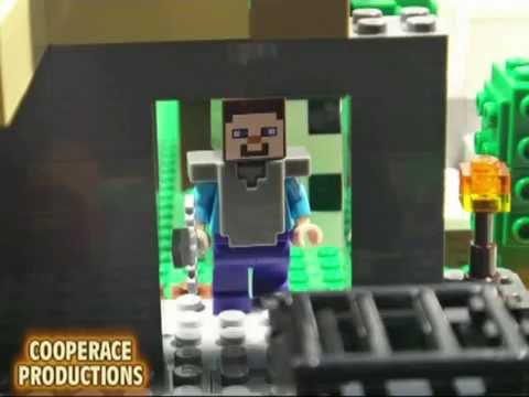LEGO MINECRAFT THE ADVENTURES OF STEVE - COMPILATION