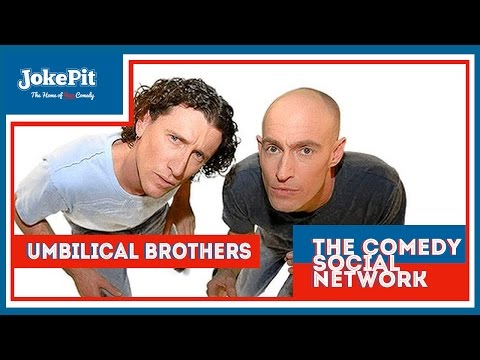 Umbilical Brothers - Edinburgh Fringe Jamiesface Interview - JokePit The Comedy Social Network